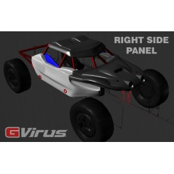 Left G-Virus side panel